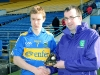 Man of Match at Final Brian Fox U21F Fin Tipp